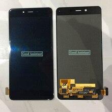 オリジナル黒/白5.0インチoneplus x E1001 E1003 E1005 lcdディスプレイ + タッチデジタイザー画面のガラスアセンブリ交換