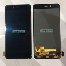 Originale Nero/Bianco 5.0 pollici Per OnePlus X E1001 E1003 E1005 Display LCD + Touch Screen Digitizer Assembly Vetro di ricambio