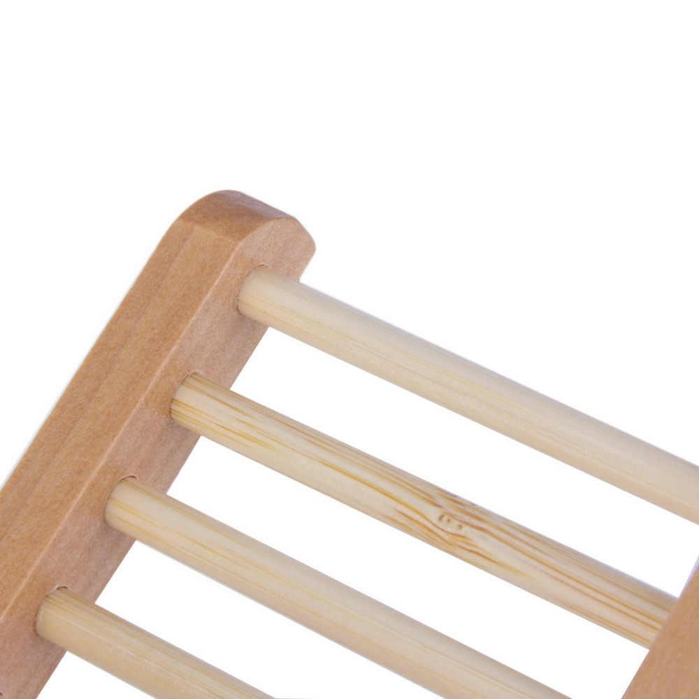 Naturalne drewno mydelniczka mydło drewniane tacka pojemnik na mydło pojemnik na talerze pojemnik do kąpieli prysznic płyta łazienka