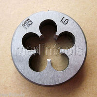 13mm x 1 Metric Right hand Die M13 x 1.0mm Pitch