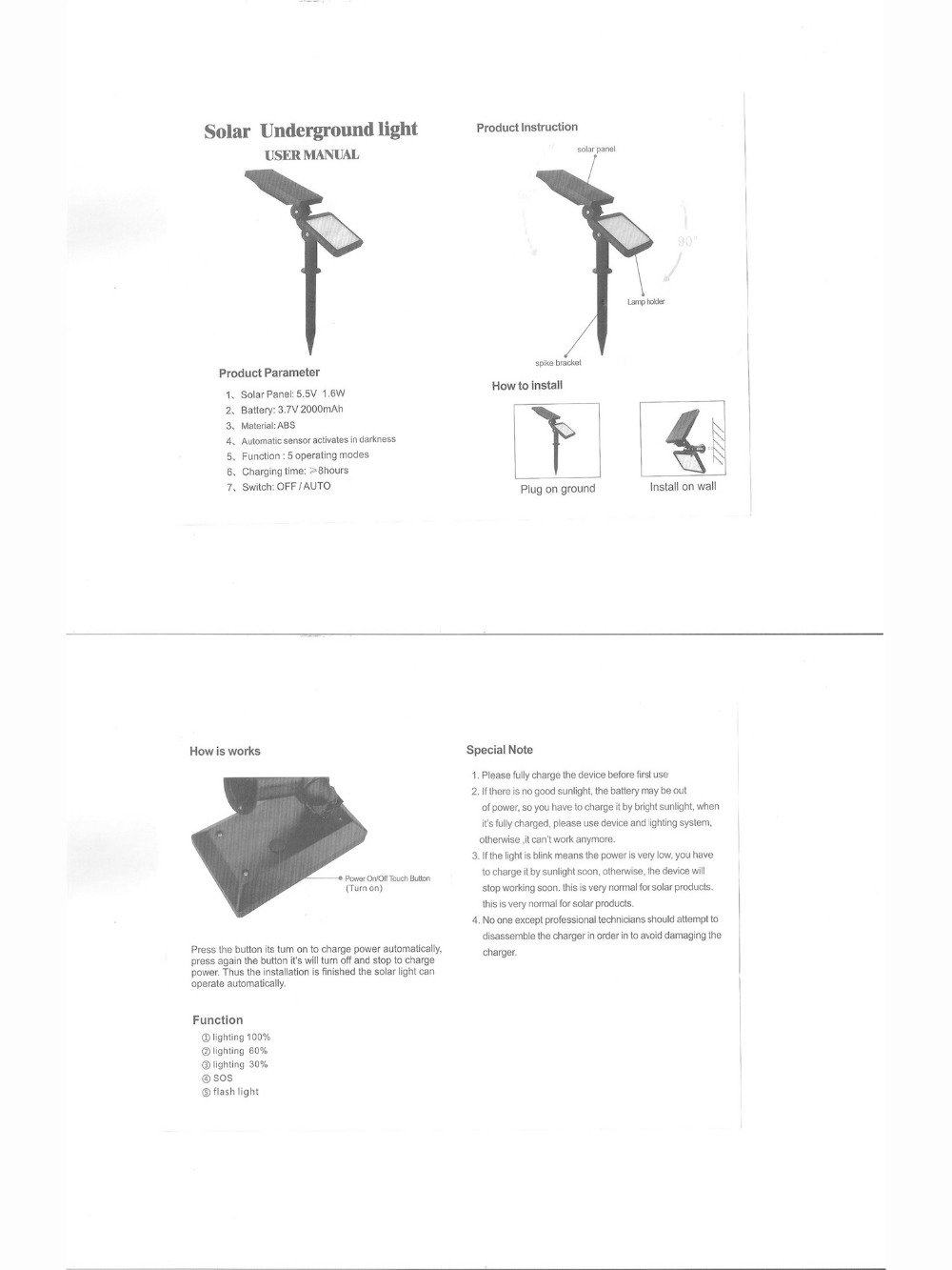 led lights for outdoor