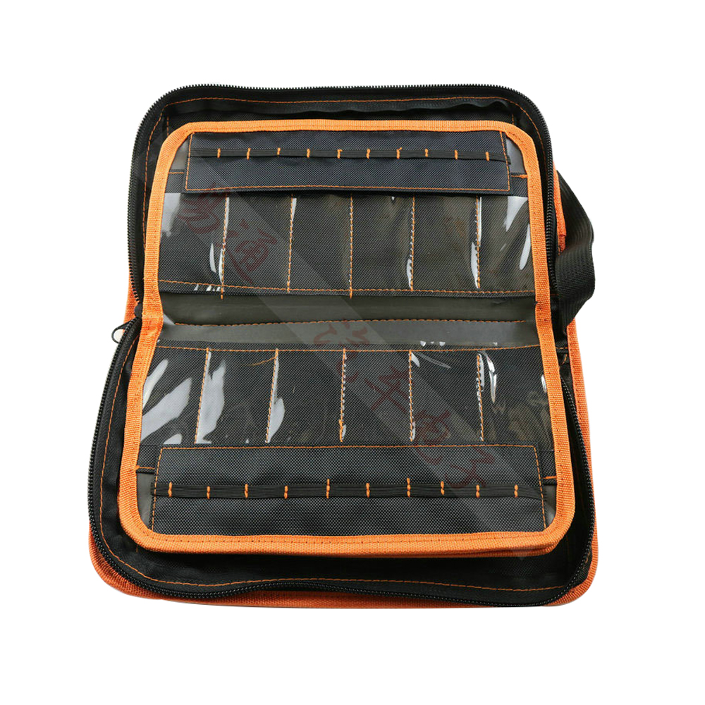 CHKJ 2 in 1 LiShi Tool Bag For Lishi Tool Set 50pcs Can Be Packed Locksmith Tools Thicken Tool Storage Bag Free Shipping