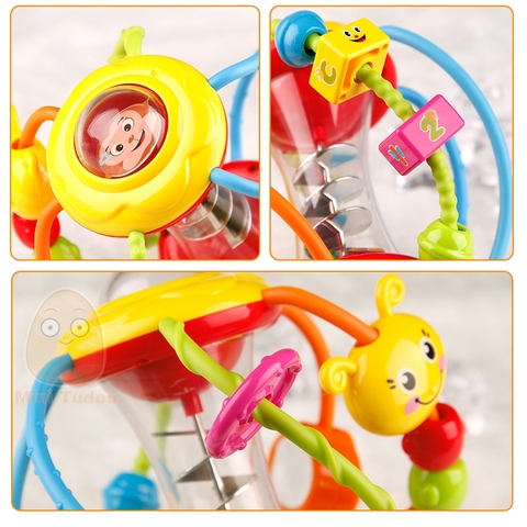 Baby Rattle Activity Ball Rattles Educational Toys For Babies Grasping Ball Puzzle Playgro Baby Toys 0-12 Months climb Learning Karachi