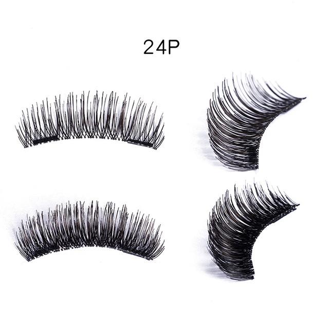 Magnetic Eyelashes 3D magnet lashes Soft Natural Long Hair