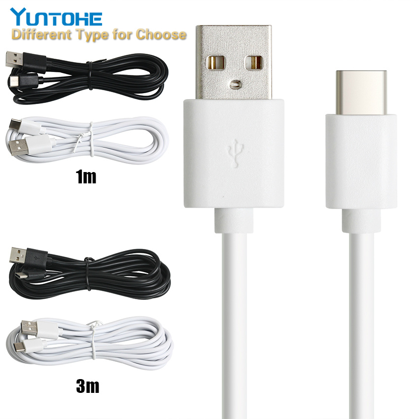3x 10ft USB-C to USB-A Cable Cord Charge Sync Data PC Laptop Smartphone M//M Pink