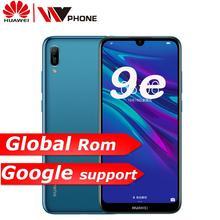 Huawei cieszyć się 9e globalny rom telefon komórkowy 6.088 Android 9.0 telefon dual sim MT6765 smartfon z procesorem ośmiordzeniowym octa core