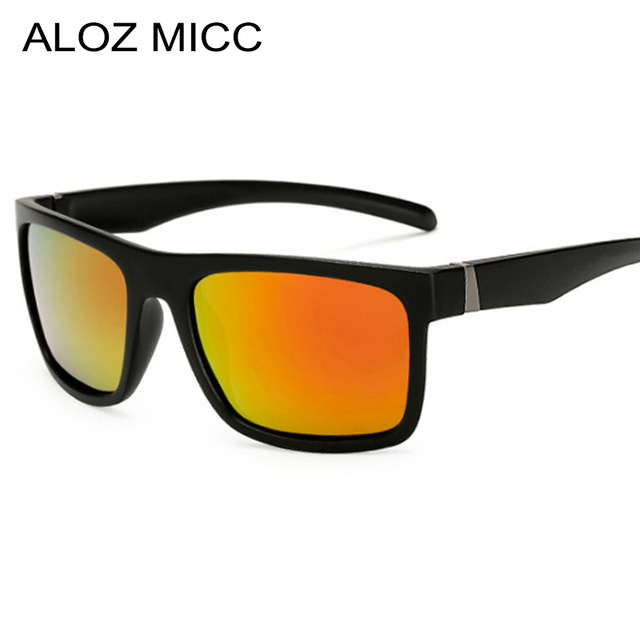 ff5ca487209bf ALOZ MICC 2018 Men s Polarized Sunglasses Pilot Driving Sun Glasses Men  Women Sport Fishing Luxury Brand Designer Oculos Q326