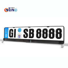 3 in 1 Car License plate cameras Parking Assistance Rear View Camera Backup Camera with 2