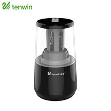 TENWIN Electric Pencil Sharpener Dual Purpose Multifunction Automatic Electronic Sharpener 8008 For Students