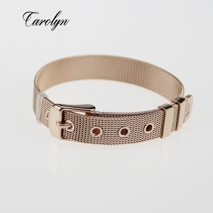 keep collective mesh stainless steel chain bracelet fit
