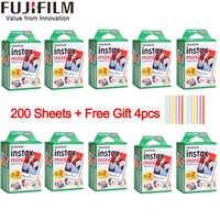 20-200 sheets Fujifilm instax mini 9 film white Edge 3 Inch wide film for Instant Camera mini 8 7s 25 50s 90 Photo paper