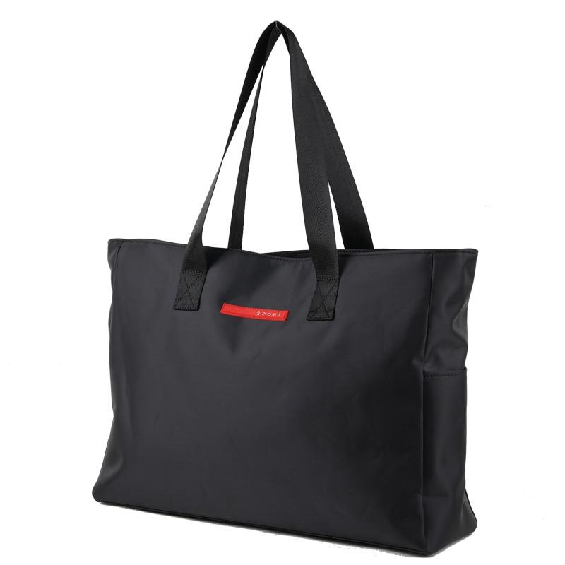 Black Large Travel Bags Waterproof Oxford Big Duffel Bag Men Business Travel Bag Portable Laptop Tote Organizer Weekend Bag 2019