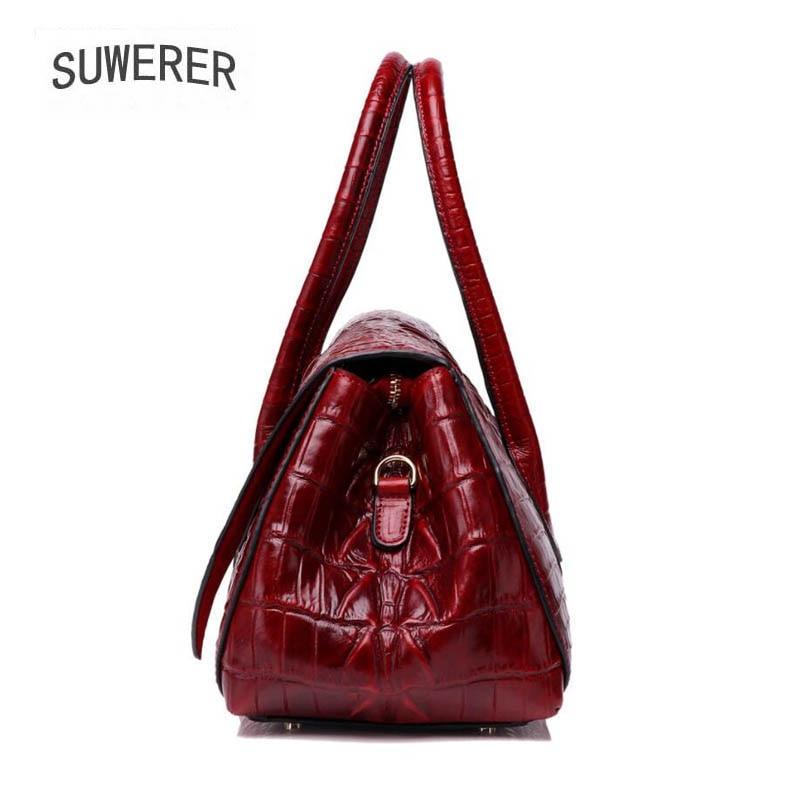 Echtem Leder Für Luxus grün Tote Frauen Handtaschen Black Neue Suwerer Taschen purple 2019 Mode burgunder Aus Designer zTXtqXxwE