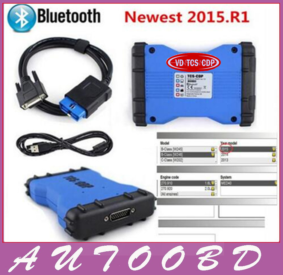 Best Selling Blue CDP 2014.2/2015.R1 VD TCS CDP Pro Plus With Bluetooth With LED Light VCI PRO COM 3 in1 Cars + Trucks 3 in1 new arrival new vci cdp with best chip pcb board 3 0 version vd tcs cdp pro plus bluetooth for obd2 obdii cars and trucks
