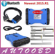 Best Selling Blue CDP 2014.2/2015.R1 VD TCS CDP Pro Plus With Bluetooth With LED Light VCI PRO COM 3 in1 Cars + Trucks 3 in1