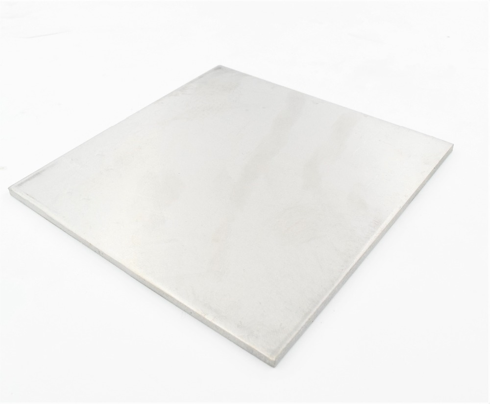 1 Pcs Stainless Steel Sheet 100 * 100mm 0.8mm 1mm 2mm Thickness