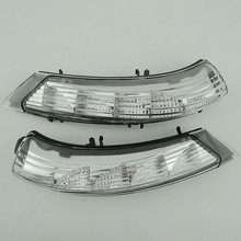 2 unids set led luz de señal de vuelta del espejo Retrovisor para Buick Regal 2009-2014 espejo 2015 lado de la lámpara de flash