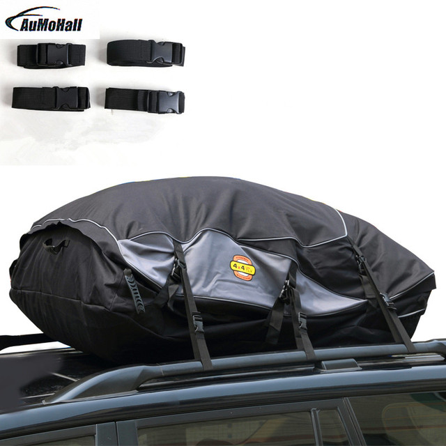 toit de voiture universel sac sac de transport de marchandises bagages toit top montage en rack. Black Bedroom Furniture Sets. Home Design Ideas