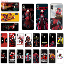 цена Lavaza Marvel deed pool Deadpool Anime Hard Phone Case for Xiaomi Redmi 5A 5 Plus 6 Pro 6A cases for Redmi Note 5 6 7 Pro Cover