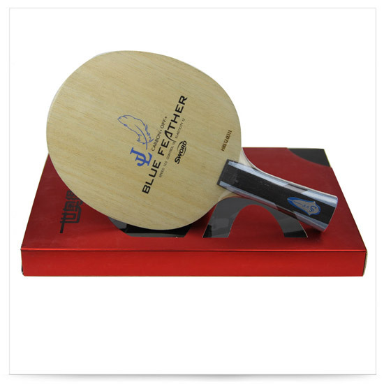 все цены на  Sword BLUE FEATHER 5+2 Ply Carbon Racket Table Tennis Blade Ping Pong Bat  в интернете