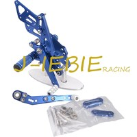 CNC Racing Rearset Adjustable Rear Sets Foot Pegs Fit For Suzuki GSXR 1000 GSXR1000 2009 2010