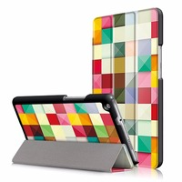 """folio stand cover case for Huawei Mediapad M3 Youth Lite 8 CPN-W09 CPN-AL00 8"""" Tablet protective cover skin+free gift"""