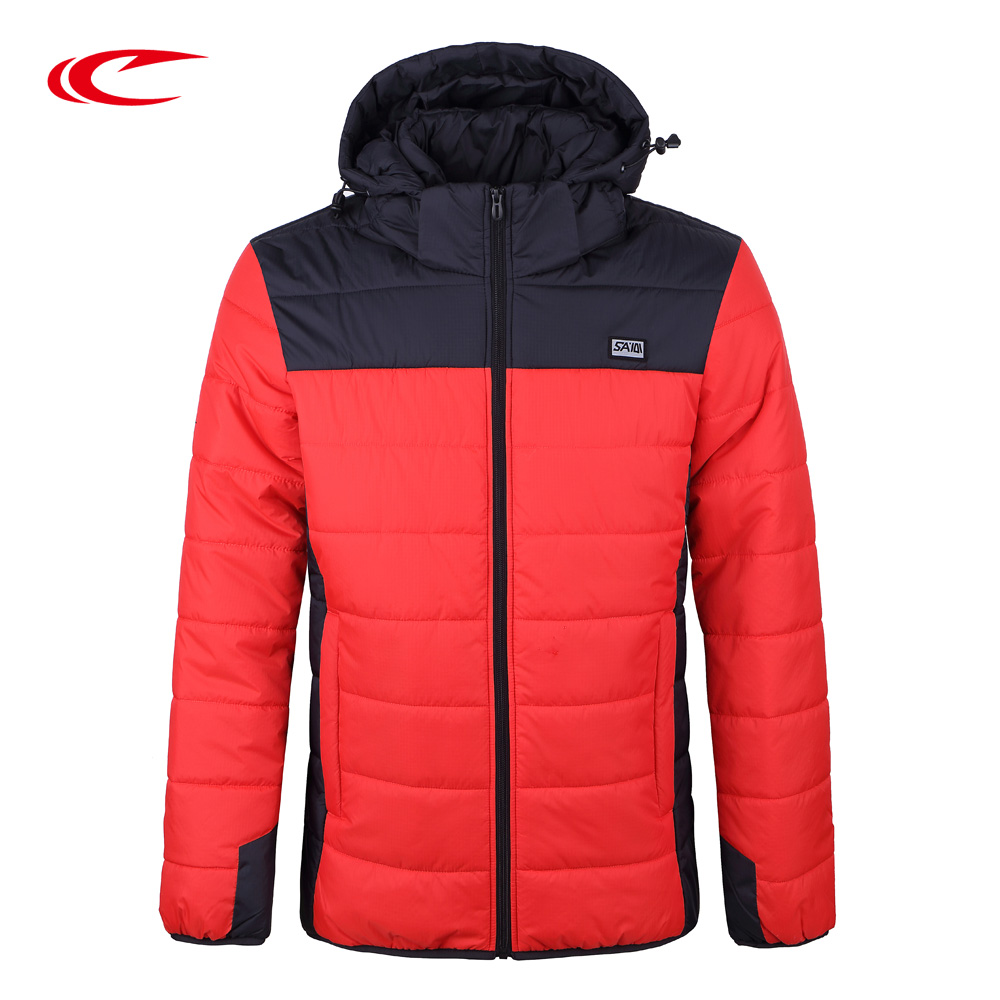 SAIQI Men Winter Climbing Hiking Hooded Thick Jacket Cotton Warm Coats Men Outwear Suit Male Training Camping Sports Jackets coutudi winter jacket men 2017 new men s cotton padded jacket and coats male casual outwear warm coat solid bomber parka coats