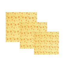 3 шт. мясной бумаги ткань Печать Многоразовые пчелиный воск сохранение одежда хлопковая одежда для кофейного магазина кухня дома