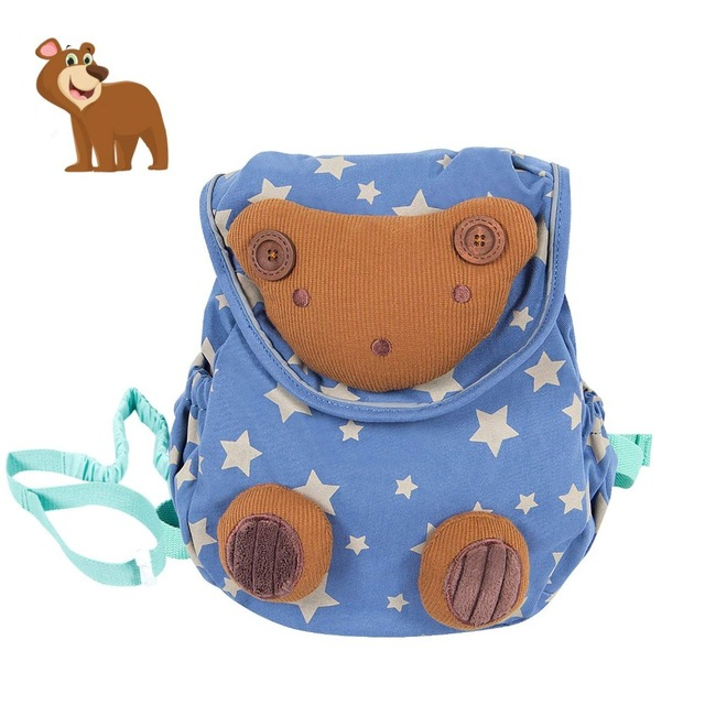 Labebe Baby Soft Stuffed Animal Backpack, Safe Kid Bag with Anti-lose Leash 802aa9da5e