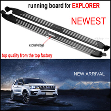 New arrival for Ford Explorer 2016 2017 2018 running board side step side bar,TOP quality,ISO9001 factory.Asia free shipping .