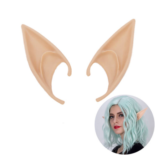 2018 Brand New Cosplay Fairy Pixie Elf Ears Soft Pointed Ears Tips Anime Party Dress Up Costume