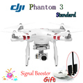 2016 Original DJI Phantom 3 Standard RTF FPV Drone with Camera 2.7K HD Gimbal & Signal Booster Quadcopter Dron Toy Fast Shipping