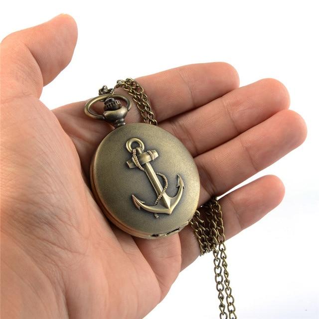 Hot Sale Hooks Pocket Watch Digital Roman Numeral Quartz Watches Analog Necklace