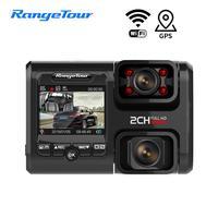 4K WiFi GPS Car DVR D30H Dash Cam Full HD 2160P Dual Lens G Sensor Night version Uber Taxi Bus Camera