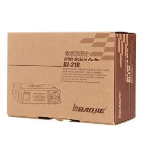 Image 5 - Baojie BJ 218 long range Car Mini Mobile Radio Transceiver VHF/UHF BJ 218 Vericle Car Radio 10km Sister KT8900 KT 8900R UV 25HX