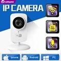 Hd 720 p mini wifi cámara ip de protección del hogar inalámbrico bebé monitor iphone android p2p 1.0mp cctv cámara de seguridad a distancia cam