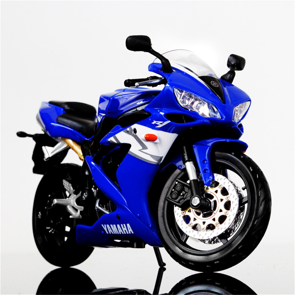 maisto 1 12 yamaha yzf r1 diecast street glide motorcycle 1 12 motorcycle vehicles model blue. Black Bedroom Furniture Sets. Home Design Ideas