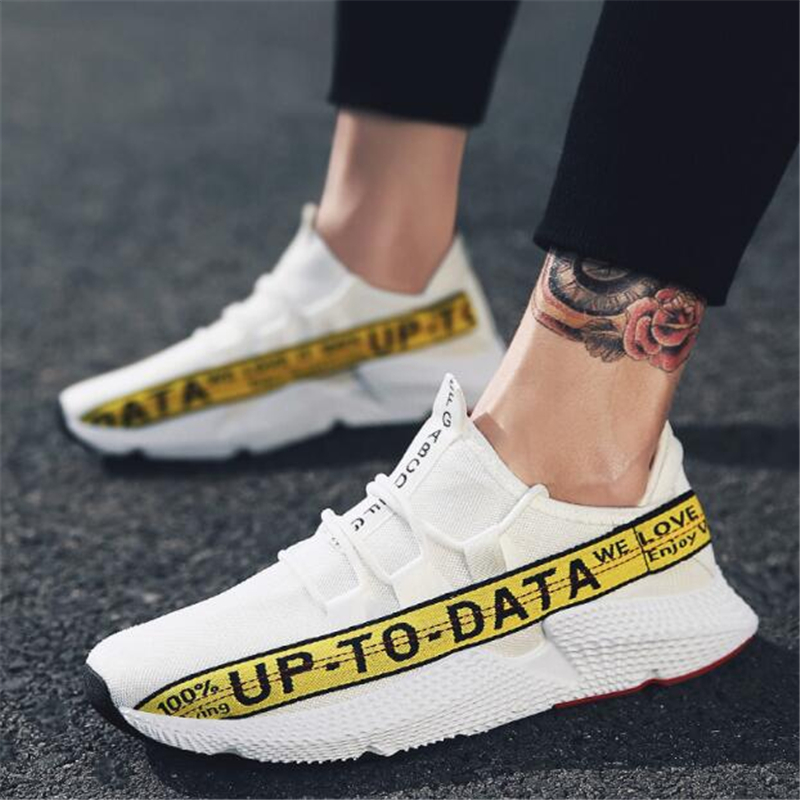 2018 Men Sneakers, Unisex Lover Shoes Summer Casual Uomo Scarpe Rete - Scarpe da uomo