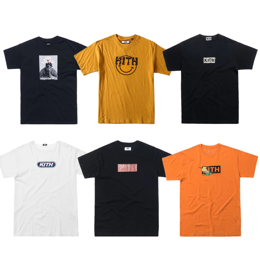 19ss Kith T Shirt Men Women 1:1 High Quality JETSONS ELROY T-shirt Casual T Shirts Kith Mens T Shirts