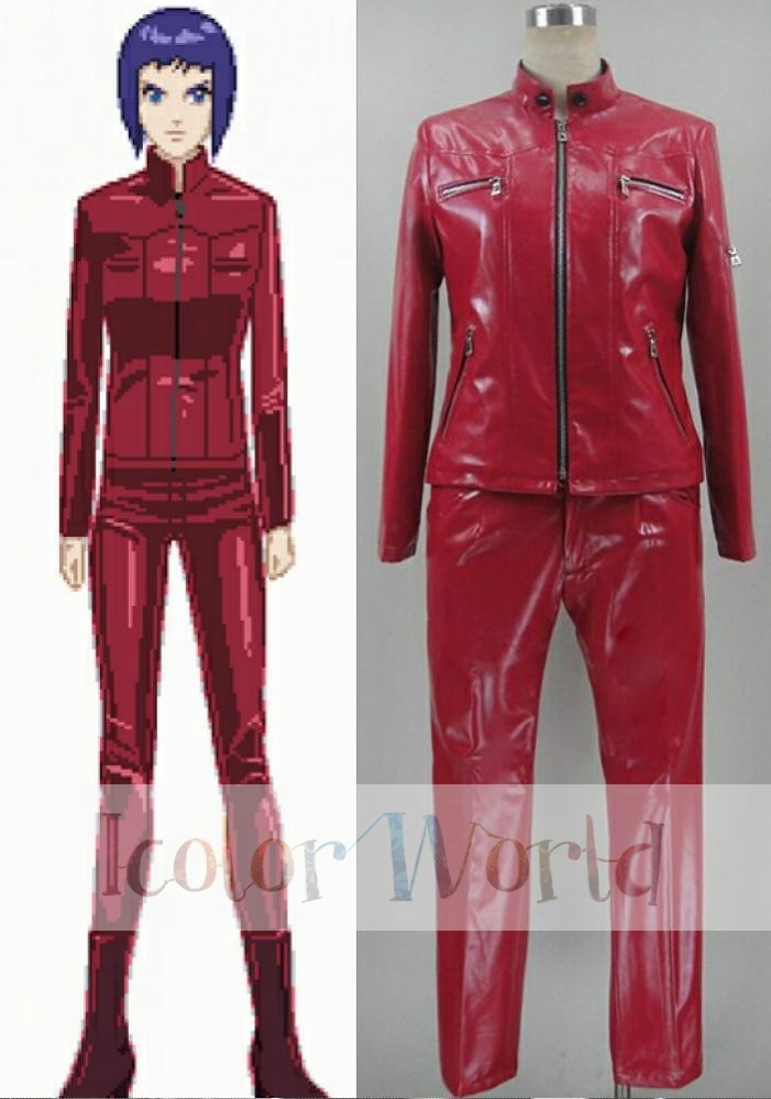 Ghost In The Shell Arise Major Motoko Kusanagi Red Cosplay Costume Cosplay Costume Costume Cosplayghost Costume Aliexpress