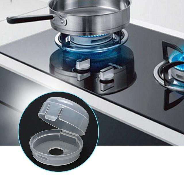 2 Pcs Set Bayi Anak Keselamatan Oven Kompor Gas Saklar Kontrol Tombol Cover Switch Kunci