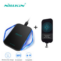 Qi Wireless Mobile Phone Charger Pad And Charging Receiver Coil Set For Apple IPhone For Samsung
