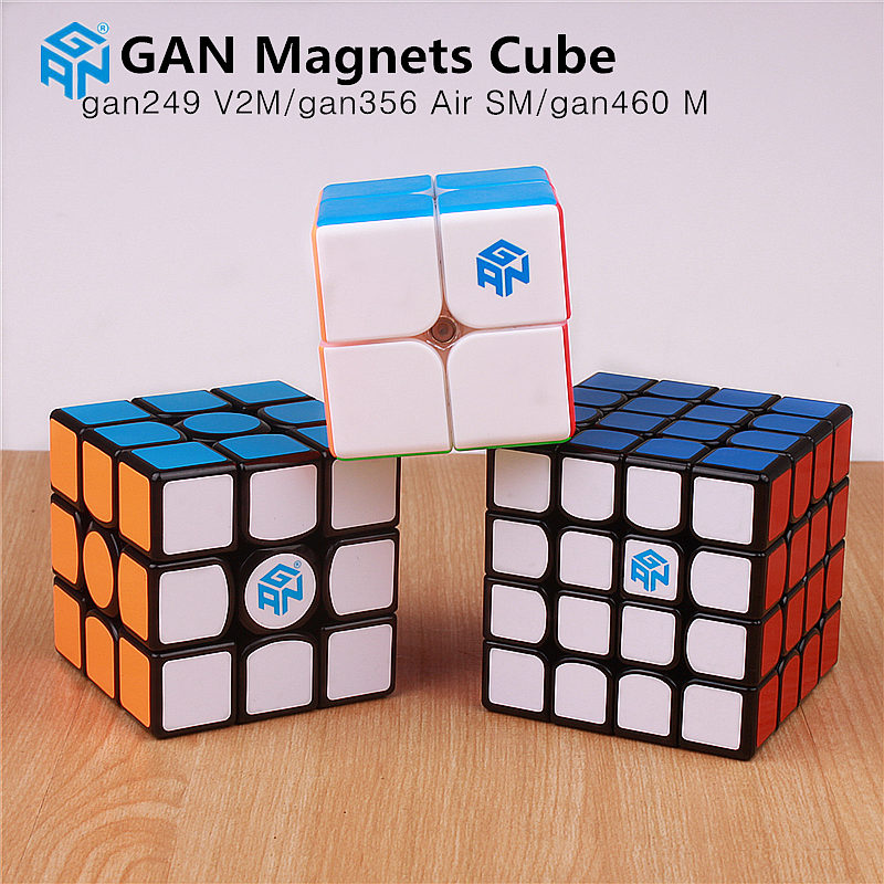 Gan 356 Air SM magnetic magic cube professional puzzle speed cube 4x4x4 gan 460 M magnets educational toys for children gans 249