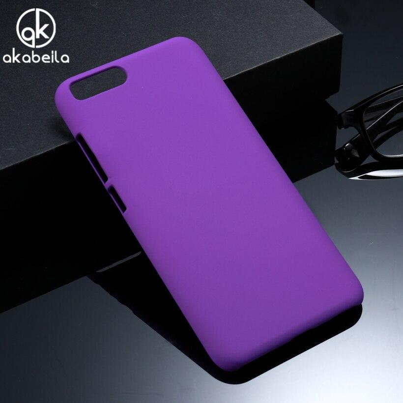 AKABEILA телефон чехол для сяо mi 6 mi 6 5,15 дюймов Корпус матовая крышка Пластик Тонкий сумка Shell для xiao mi 6 кожа случае охватывает
