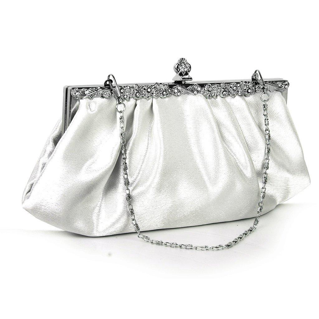 10pcs( ASDS Ivory Party Clutch Bag Banquet Handbag Dress Wedding Bag