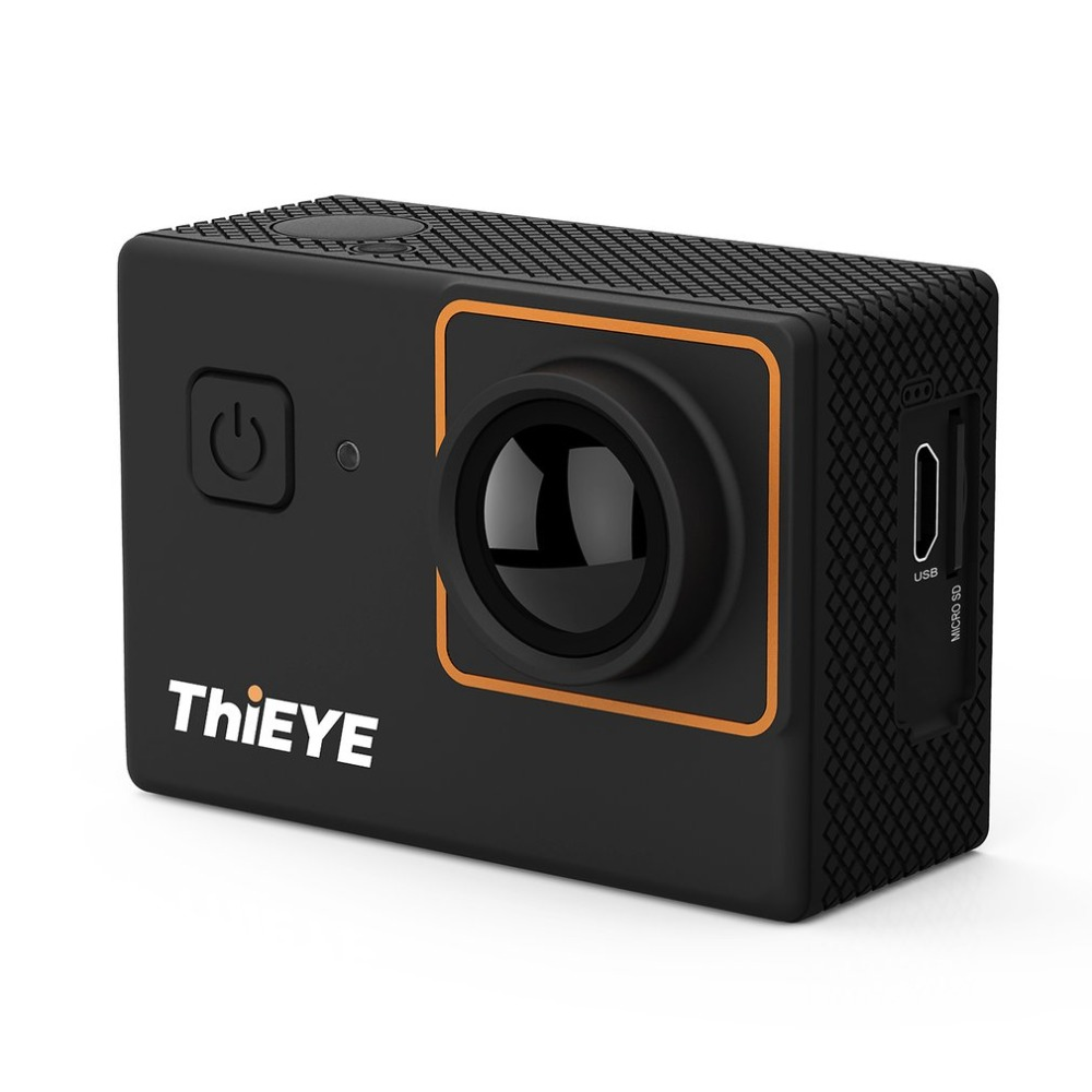 Thieye Ultra HD 4K WIFI Action Camera 2.0 Inch 170 Degree Wide Angle Waterproof Helmet Cam Sport Camera 12MP Sensor HD soocoo c50 4k hd wifi sport action camera 2 inch lcd screen 12mp camcorder with waterproof case 170 degrees wide angle lens