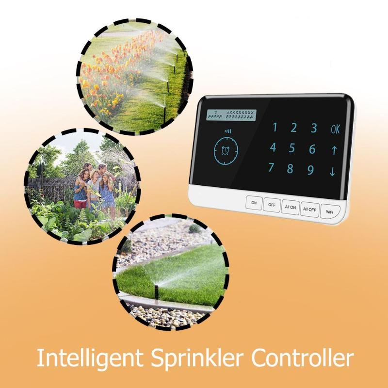 Sprinkler Controller 9 Zone WiFi Irrigation Timer System Controller Garden Watering System for Farmland Greenhouse