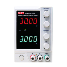 UNI-T UTP3313TFL-II DC Regulated Power Supply Single Channel 30V/3A/90W with LED Display 30v 20a switching regulated adjustable dc power supply single channel variable digital display smps ey3020et