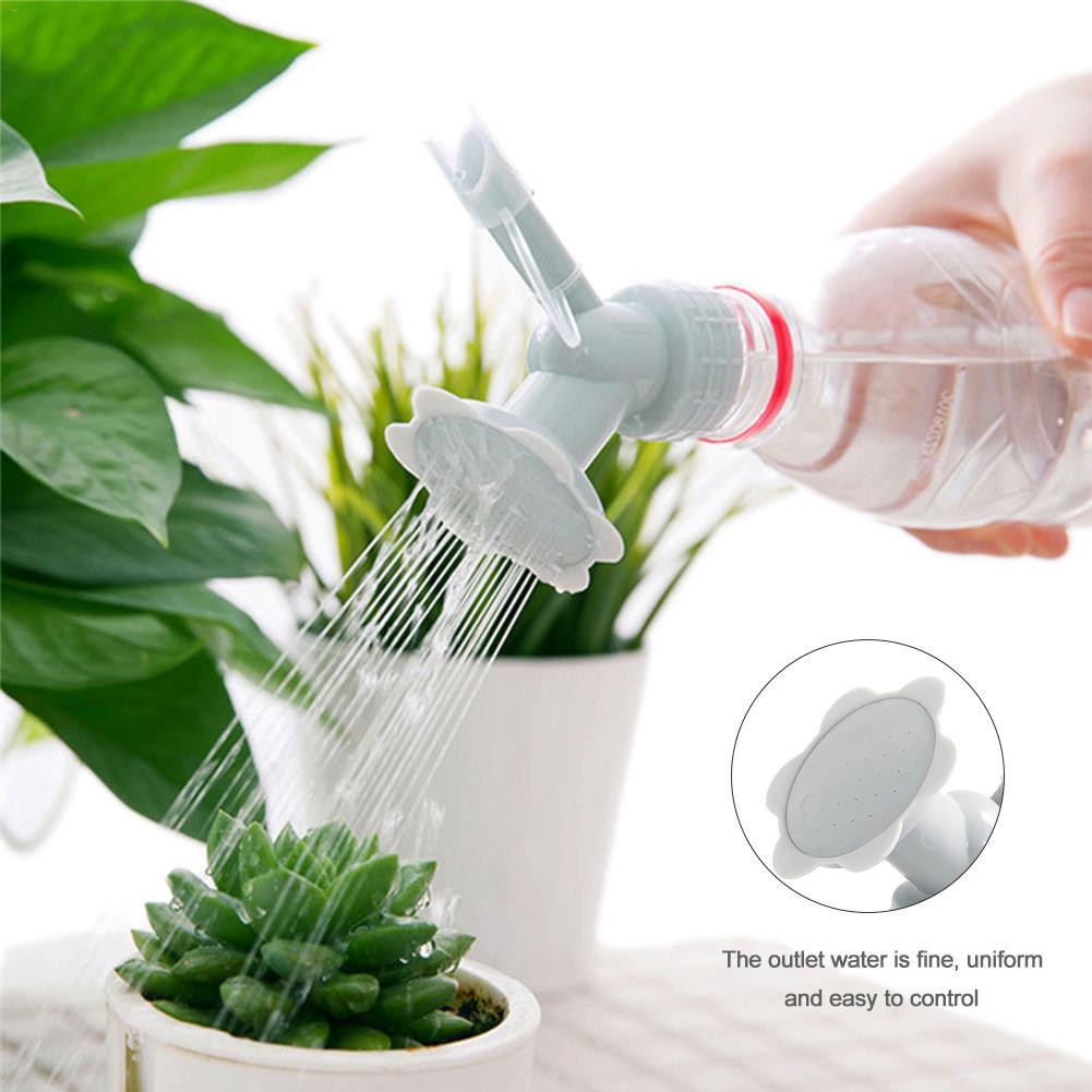 Sprinkler-Nozzle Shower-Head Watering-Cans Flower Garden-Tool Waterers-Bottle Plastic