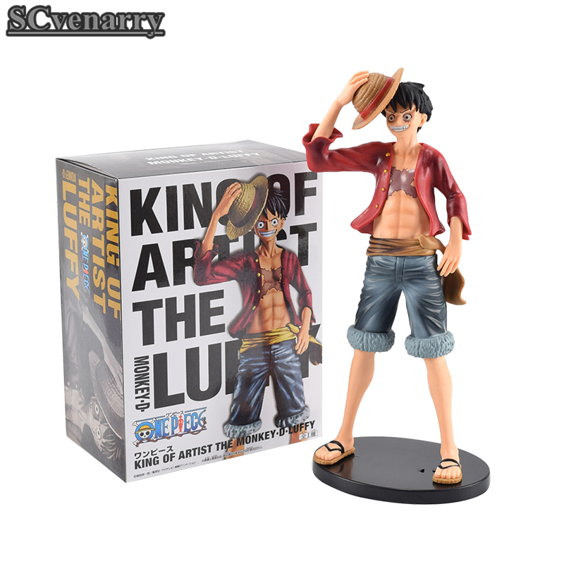 Toys & Hobbies One Piece King Of Artist Monkey D Luffy 27cm Straw Hat Pvc Acation Figure Model Toys Colours Are Striking